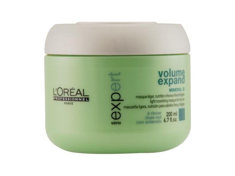 L'Oreal Serie Expert Volume Expand Masque For Fine Hair, 6.7 oz