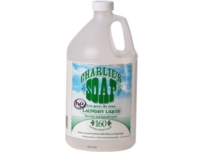 Charlie's Soap Laundry Liquid, 128 oz