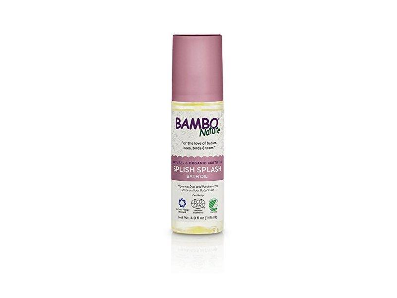 Bambo Nature Splish Splash Bath Oil, 4.9 fl oz