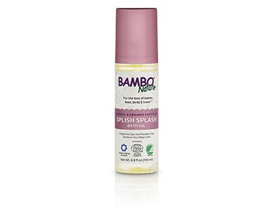 Bambo Nature Splish Splash Bath Oil, 4.9 fl oz