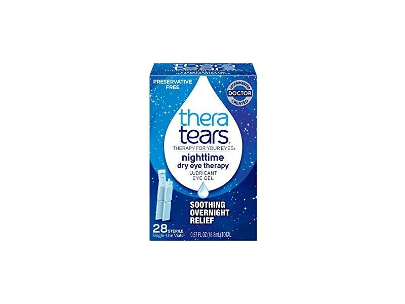 TheraTears Nighttime Dry Eye Therapy Lubricant Eye Gel, 0.57 fl oz (Pack of 3)