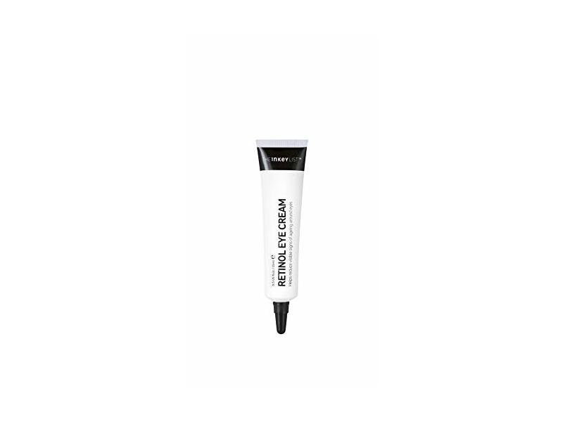 Inkey List Eye Cream Retinol Reduces Wrinkles Fine Lines, .5 fl oz