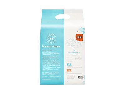 The Honest Company Honest Company Baby Wipes, Fragrance Free, Classic, 288 Count - Image 6