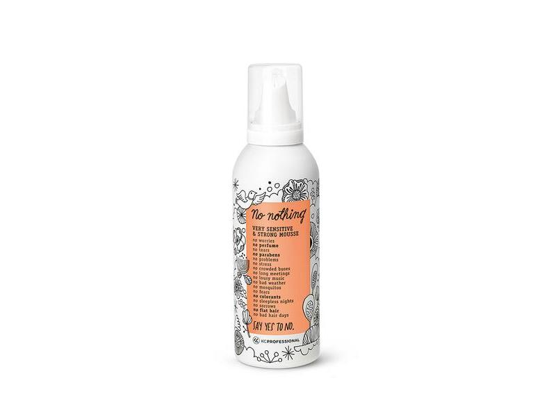 No Nothing Very Sensitive & Strong Mousse, 6.8 oz