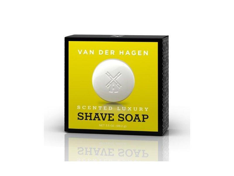 Van Der Hagen Scented Luxury Shave Soap, 3.5 oz (Pack of 3)