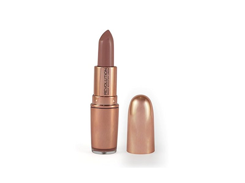 Makeup Revolution Rose Gold Lipstick, Chauffeur