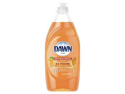 Dawn Ultra Antibacterial Hand Soap/Dishwashing Liquid, Orange Scent, 19.4 fl oz