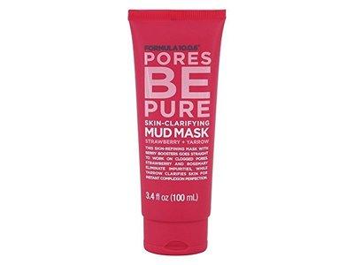 Formula 10.0.6 Pores be Pure Skin-Clarifying Mud Mask, 3.4 oz.