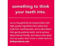 Hello Oral Care Kids Fluoride Free Toothpaste, Natural Watermelon, 4.2 Ounce - Image 4