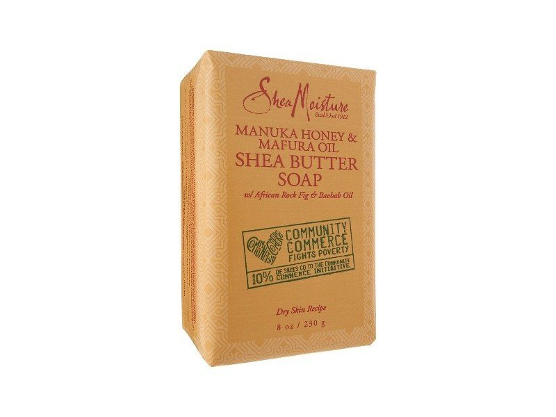 SheaMoisture Manuka Honey & Mafura Oil Shea Butter Soap, 8 oz