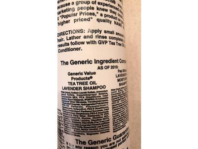 Generic Value Products Tea Tree Oil Lavender Shampoo - Image 4