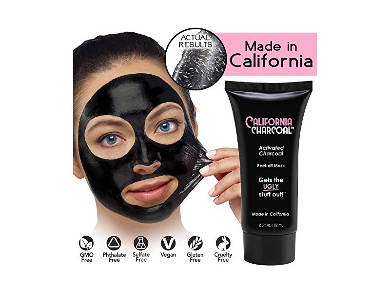 Bulbhead California Charcoal Activated Charcoal Mask (1 Pack)