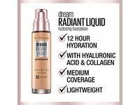 Maybelline Dream Radiant Liquid Hydrating Foundation, Cashew, 1 fl oz/30 mL - Image 9