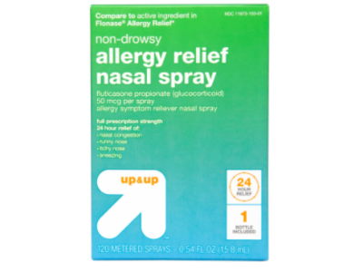 Up & Up Non-Drowsy Allergy Relief Nasal Spray, 120 sprays