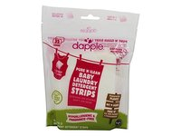 Dapple Pure 'N' Clean Baby Laundry Detergent Strips, Fragrance Free, 32 ct - Image 2