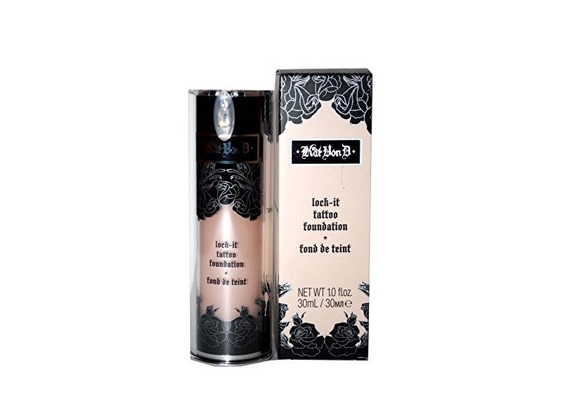 Kat Von D Lock-It Tattoo Foundation, Light 44, 1 fl oz