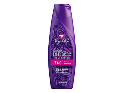 Aussie Total Miracle Collection 7N1 Shampoo, 12.1 Fluid Ounce - Image 3