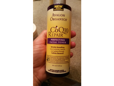 Avalon Organics CoQ10 Repair Repairing Facial Toner, 8 fl oz - Image 3