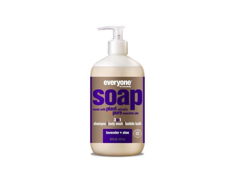 Everyone Soap 3-In-1, Lavender + Aloe, 32 fl oz