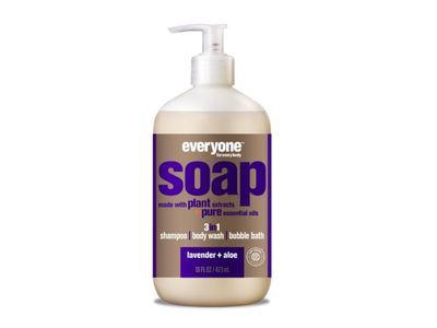 Everyone Soap 3-In-1, Lavender + Aloe, 32 fl oz - Image 1