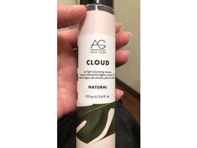 AG Hair Natural Cloud Airlight Volumizing Mousse, 3.6 fl oz - Image 3
