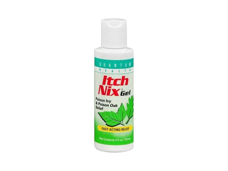 Itch Nix Gel, Poison Ivy & Poison Oak Relief, 4 fl oz