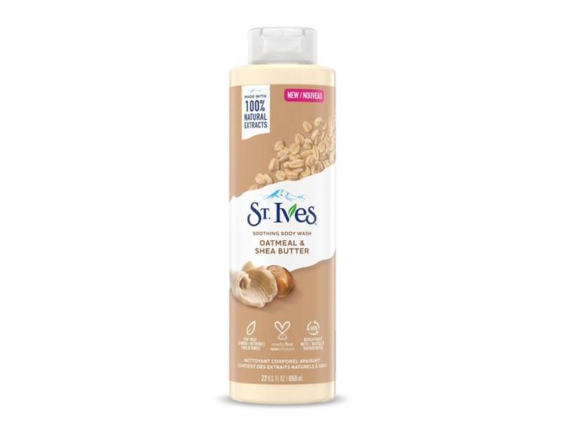 St. Ives Oatmeal & Shea Butter Natural Body Wash, 22 fl oz