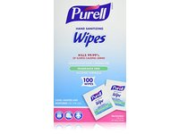 Purell Hand Sanitizing Wipes, Fragrance Free, 100 ct - Image 2
