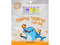 Aura Cacia Cheering Tangerine Foam Bath, 2.5 oz - Image 2