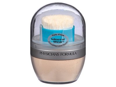 Physicians Formula Mineral Wear Talc-Free Mineral Airbrushing Loose Powder, Translucent Light, 0.35 oz. - Image 1