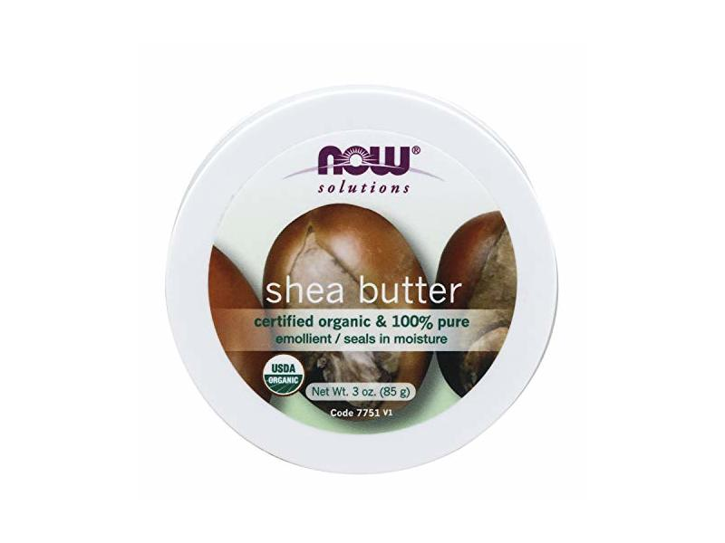 Now Solutions, Organic Shea Butter, Travel Size, 3 Oz