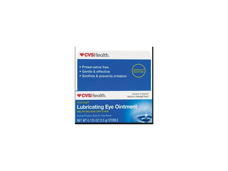 CVS Lubricating Eye Ointment, 0.125 oz