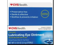 CVS Lubricating Eye Ointment, 0.125 oz - Image 2