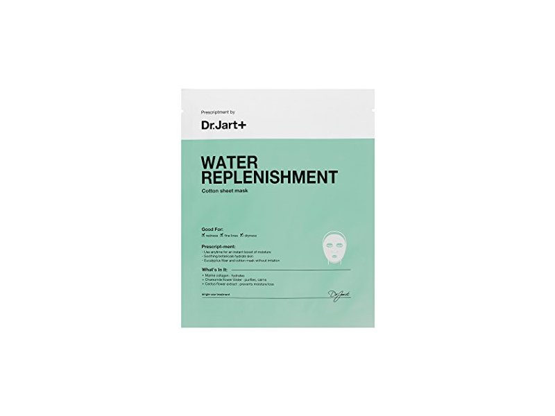 Dr.Jart+ Water Replenishment Cotton Sheet Mask, 1 mask