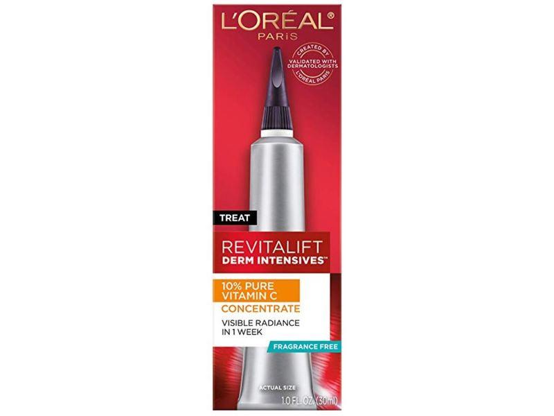 L'Oreal Paris Revitalift Derm Intensives 10% Pure Vitamin C Concentrate, 10 fl oz