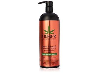 Hempz Herbal Volumizing Conditioner, Sweet Pineapple & Honey Melon, 33.8 fl oz/1 L