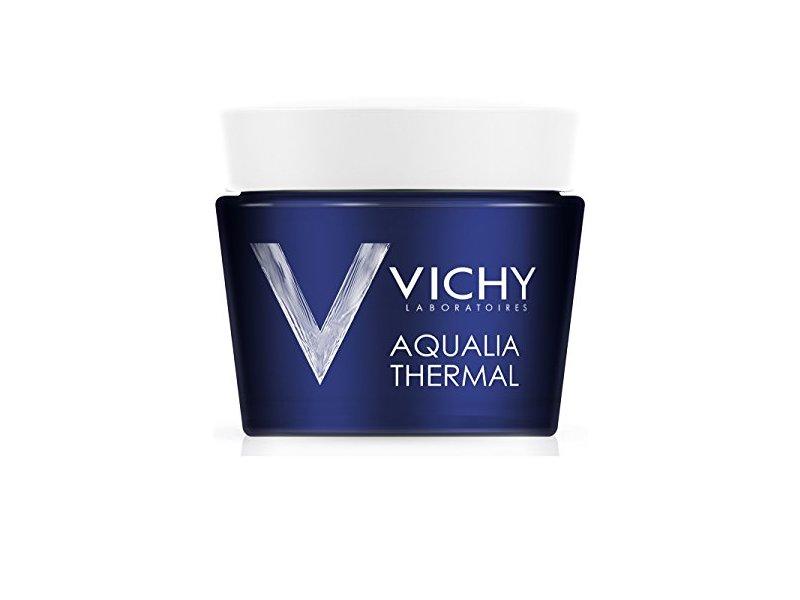 Vichy Aqualia Thermal Night Spa Replenishing Anti-Fatigue Sleeping Mask with Hyaluronic Acid, 2.5 fl oz