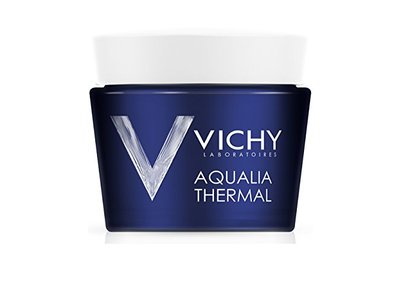 Vichy Aqualia Thermal Night Spa Replenishing Anti-Fatigue Sleeping Mask with Hyaluronic Acid, 2.5 fl oz