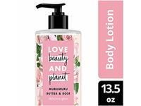 Love Beauty and Planet Murumuru Butter & Rose Body Lotion, Delicious Glow, 13.5 fl oz - Image 2