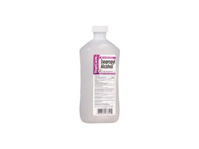 Top Care Alcohol Isopropyl 91%, 16 oz
