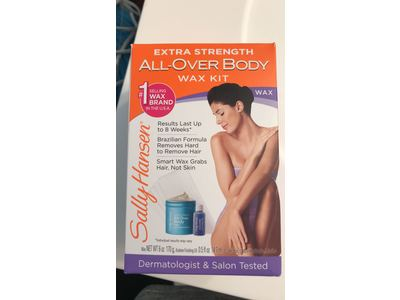 Sally Hansen All Over Body Wax Hair Removal Kit - Image 3