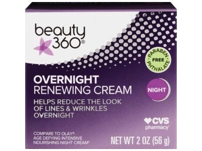 Beauty 360 Overnight Anti-Aging Complex Renewing Cream