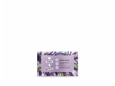 Love Home & Planet Dryer Sheets Lavender & Argan Oil, 80 count