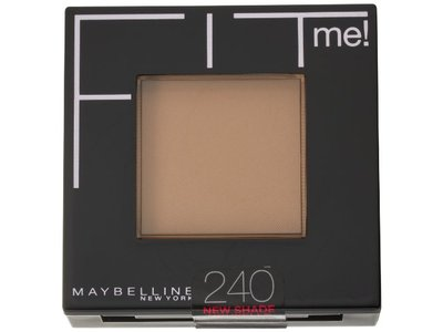 Maybelline New York Fit Me! Pressed Powder, 240 Golden Beige, 0.3 Ounce - Image 5