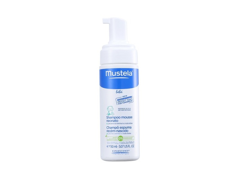 Mustela Shampoo Mousse Neonato, 150 mL