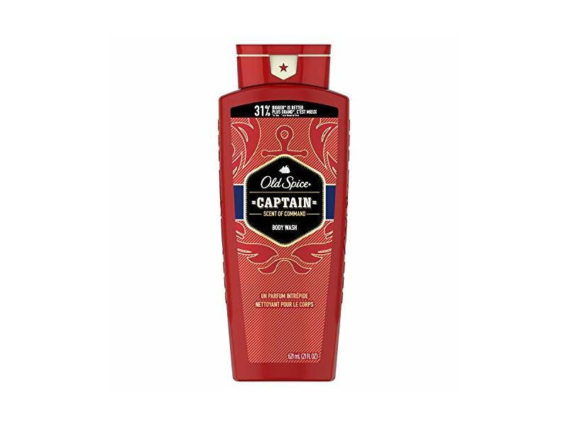 Old Spice Body Wash, Captain Scent of Command, 21 fl oz