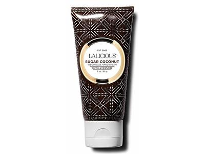 LALICIOUS Sugar Coconut Weightless Hand Cream, Mango Butter, 3 oz