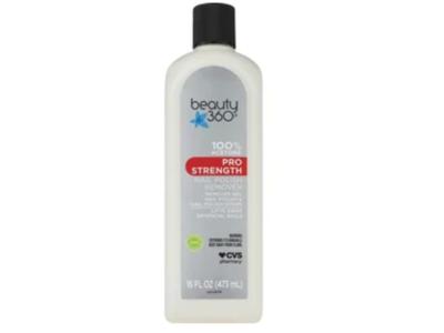 Beauty 360 Pro Strength Nail Polish Remover, 16 fl oz
