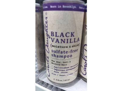 Carol's Daughter Black Vanilla Sulfate-Free Shampoo, 2.0 fl oz - Image 3