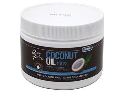 Queen Helene Jar Coconut Oil 100% 10.75oz (6 Pack)